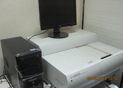 UV Vis Spectrophotometer [Hitachi]