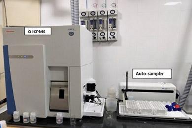 Quadrupole- Inductively Coupled Plasma Mass Spectrometer (Q-ICPMS)