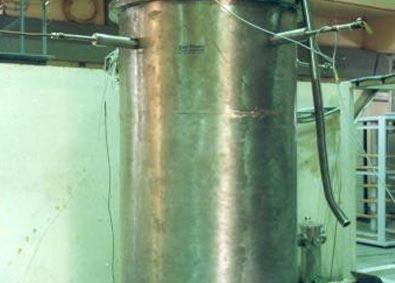Vacuum Jacket of STC