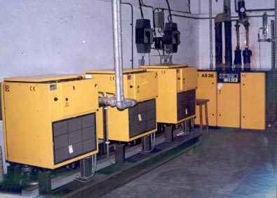 Air Compressor and the Booster Compressor of the LN2 Plant