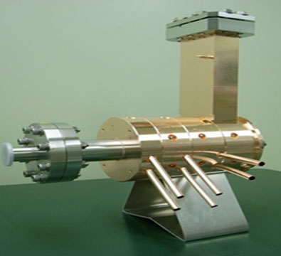 The 2.6 cell, 2860 MHz copper cavity is to be used as the electron gun
