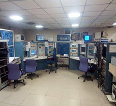 Pelletron Control Room