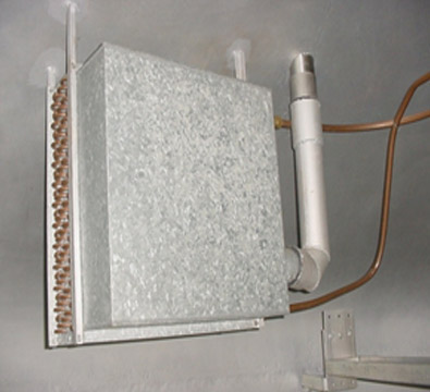 Old Chiller installed insideAccelerator tank