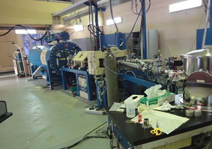 Pelletron Accelerator RBS-AMS Systems