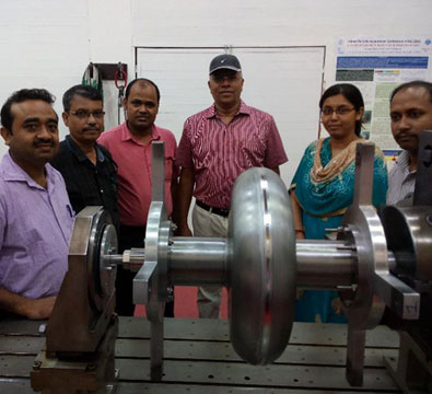 Completion of the second 650 MHz single cell niobium low beta cavity (LBC) jointly by VECC and IUAC (July 2018).