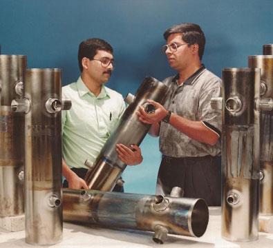 QWR production at Argonne National Lab (September 1998).